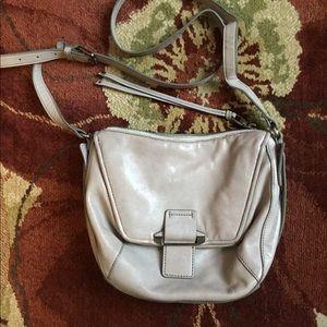 Lavander Authentic Leather Crossbody Bag